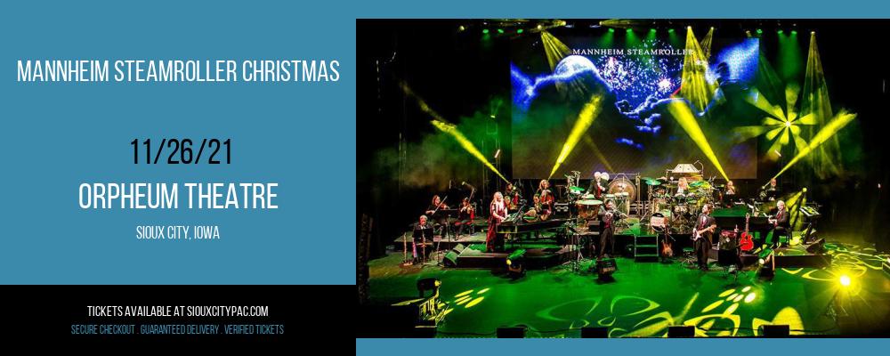 Mannheim Steamroller Christmas at Orpheum Theatre