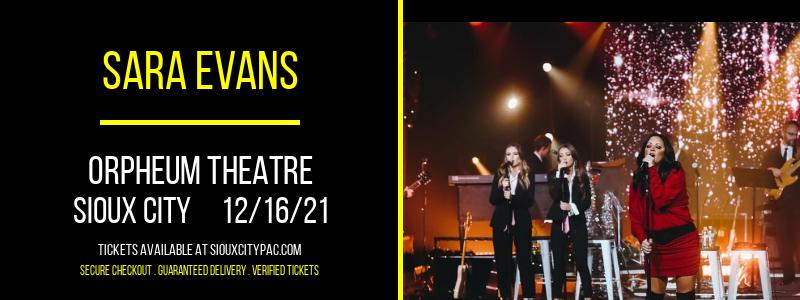 Sara Evans at Orpheum Theatre